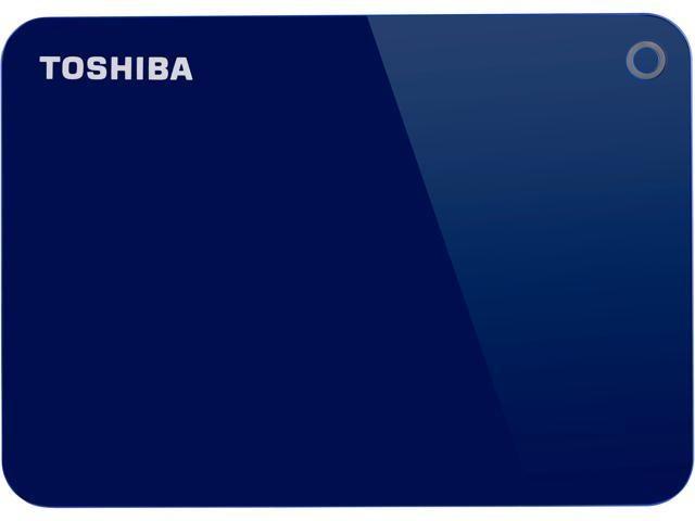 Disco Duro Externo Toshiba Canvio Advance, 2.5'', 1TB, USB 3.0, Azul