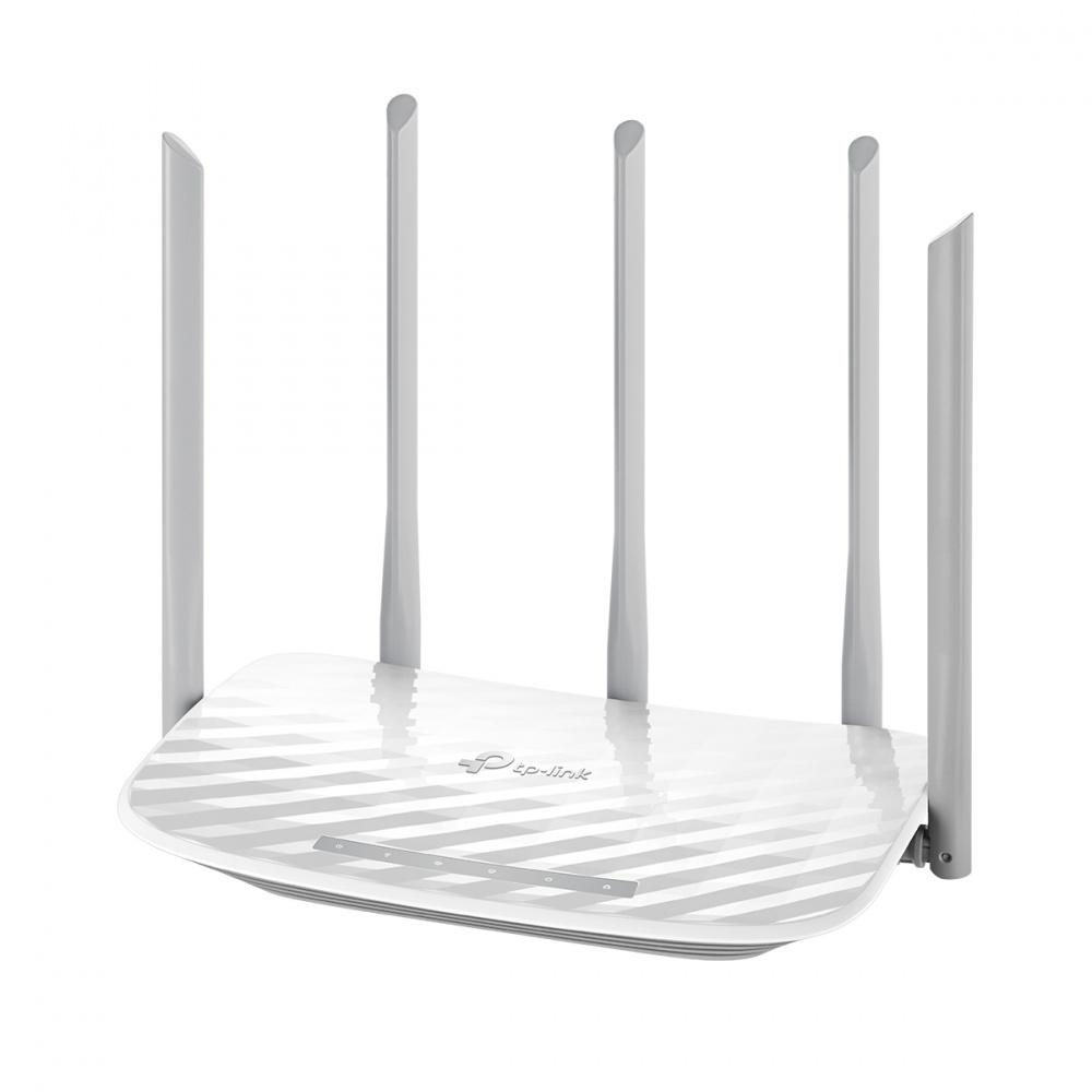 Router TP-LINK Ethernet Firewall ARCHER C60, Inalámbrico, 867Mbit/s, 5x RJ-45, 2.4/5GHz, 5 Antenas Externas
