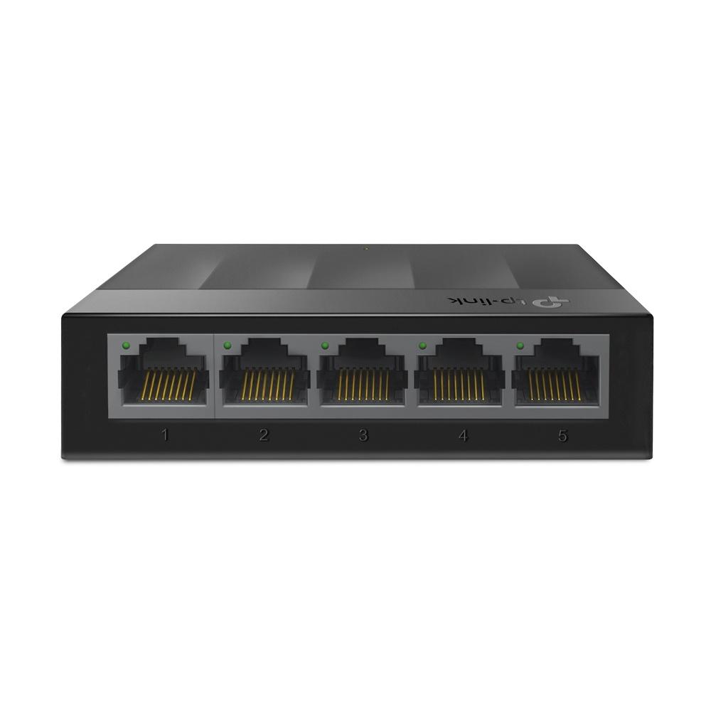 Switch TP-Link Gigabit Ethernet LS1005G, 5 Puertos 10/100/1000Mbps, 10 Gbit/s, 2000 Entradas - No Administrable