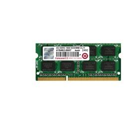 Memoria RAM Transcend JetRam DDR3, 1600MHz, 4GB, CL11, SO-DIMM