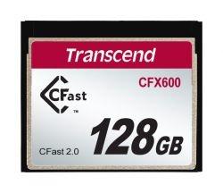 Memoria Flash Transcend CFX600, 128GB CompactFlash
