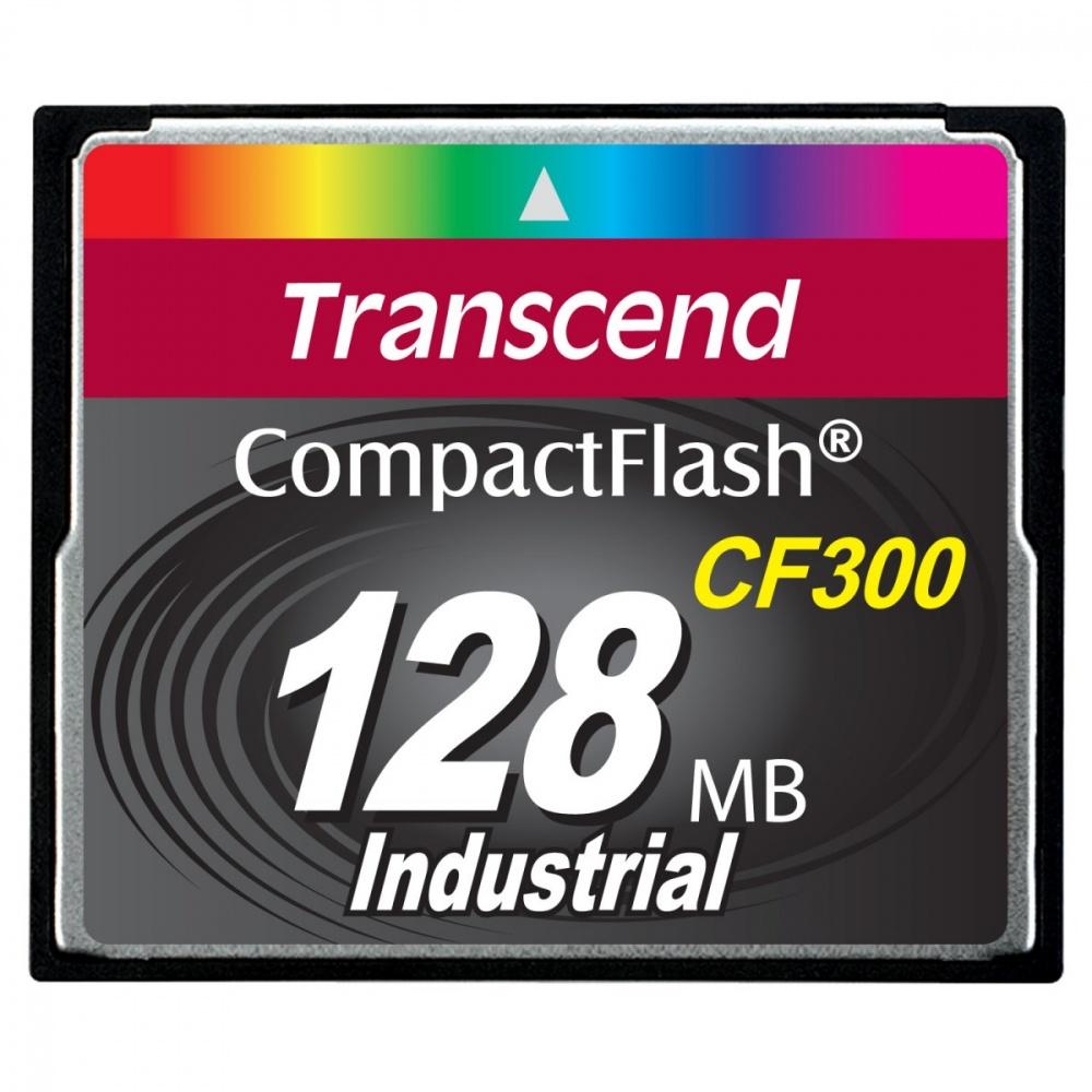 Memoria Flash Transcend CF300, 128MB, CompactFlash SLC
