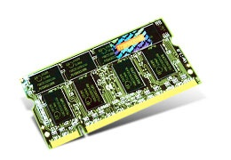Memoria RAM Transcend TS128MSD64V3A DDR, 333MHz, 1GB, Non-ECC, CL2.5, SO-DIMM