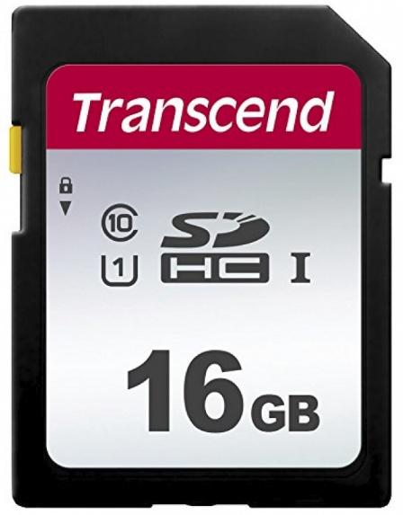 Memoria Flash Transcend 300S, 16GB SDHC NAND Clase 10