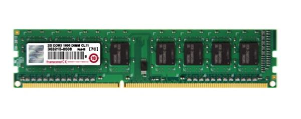 Memoria RAM Transcend DDR3, 1600MHz, 8GB, CL11, Non-ECC