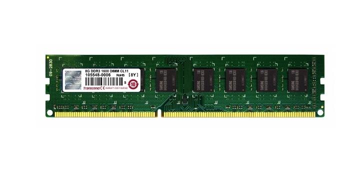 Memoria RAM Transcend TS1GLK72V6H DDR3, 1600MHz, 8GB, ECC