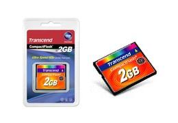 Memoria Flash Transcend, 2GB CompactFlash MLC