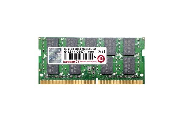 Memoria RAM Transcend TS2GSH72V1B DDR4, 2133MHz, 16GB, ECC, CL15, SO-DIMM