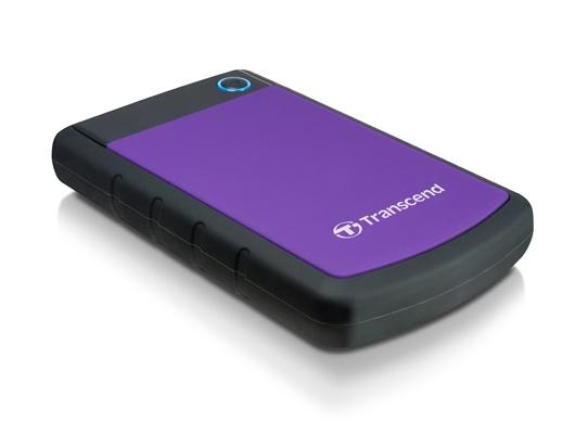Disco Duro Externo Transcend StoreJet 25H3P 2.5'', 2TB, SATA, USB 3.0, Negro/Violeta - para Mac/PC