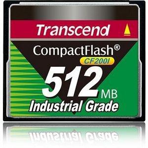 Memoria Flash Transcend CF2001 Industrial Grade, 512MB CompactFlash