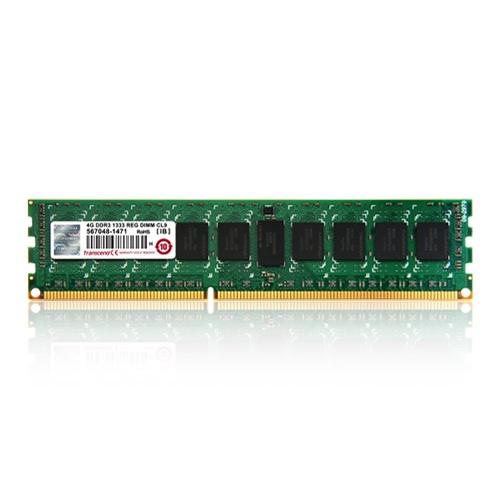 Memoria RAM Transcend TS512MKR72V6N DDR3, 1600MHz, 4GB, ECC, CL11