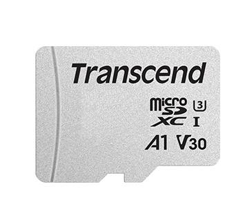 Memoria Flash Transcend 300S, 64GB MicroSDHC NAND Clase 10, con Adaptador
