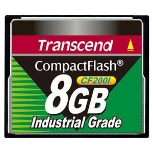 Memoria Flash Transcend CF2001 Industrial Grade, 8GB CompactFlash