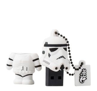 Memoria USB Tribe, 8GB, USB 2.0, Star Wars Stormtrooper