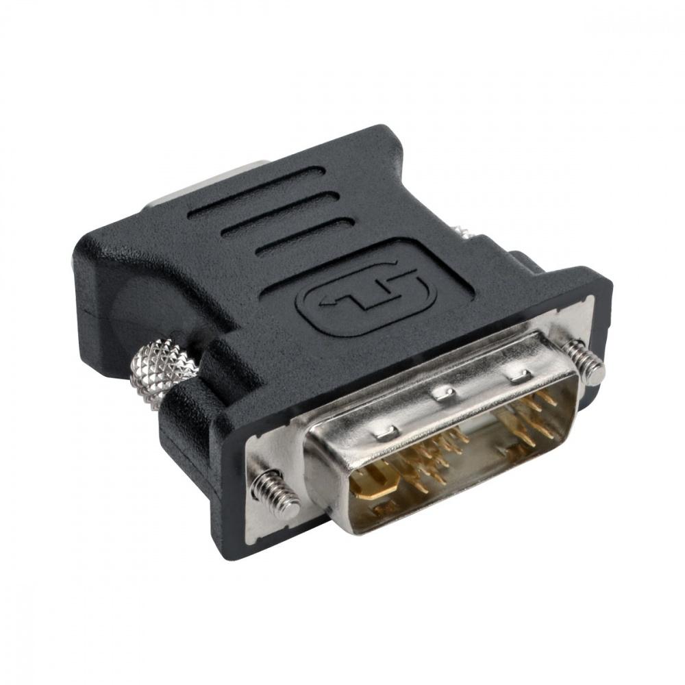 Tripp Lite Adaptador DVI-I Macho - VGA Hembra, Negro