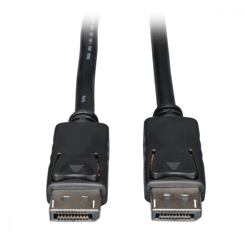 Tripp Lite Cable DisplayPort Macho - DisplayPort Macho, 3.05 Metros, Negro