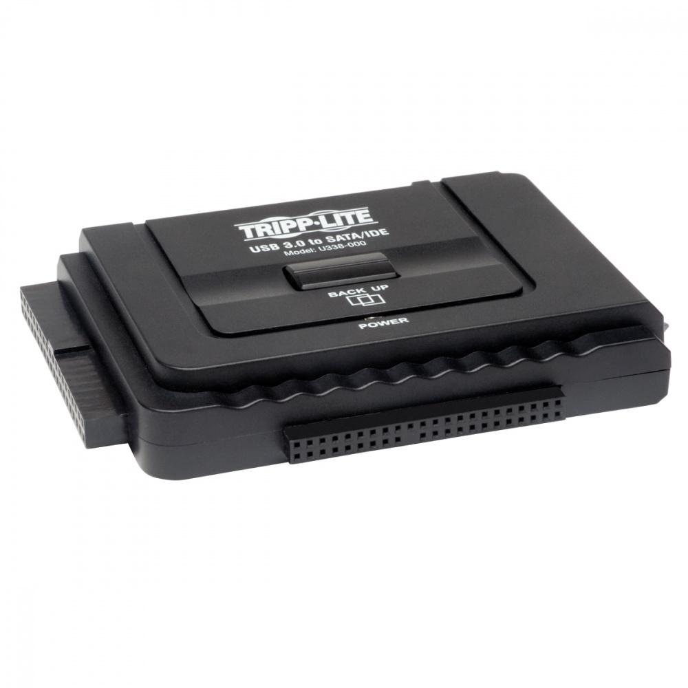 """Tripp Lite Adaptador USB 3.0 - SATA para Unidades de Disco de 3.5"""" y 2.5"""""""
