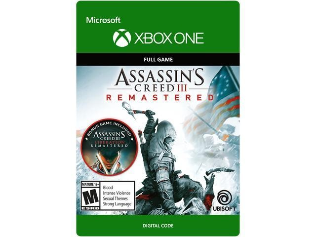 Assassins Creed III: Remastered, Xbox One - Producto Digital Descargable