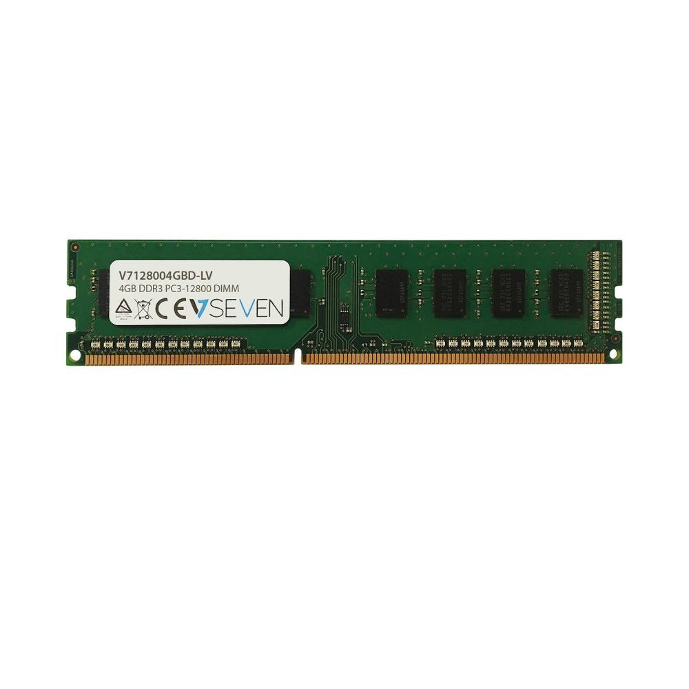 Memoria RAM V7 V7128004GBD-LV DDR3, 1600MHz, 4GB, CL11