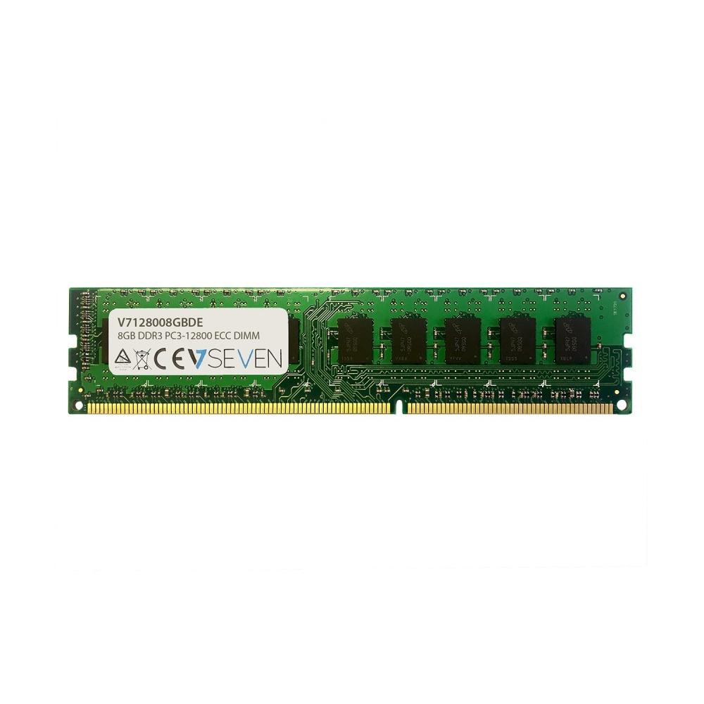 Memoria RAM V7 V7128004GBDE DDR3, 1600MHz, 8GB, ECC, CL5