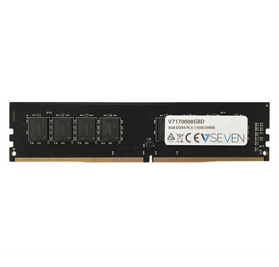 Memoria RAM V7 V7170008GBD DDR4, 2133MHz, 8GB, CL15