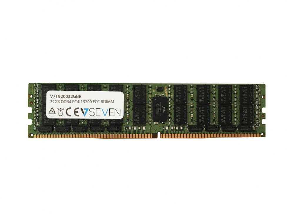 Memoria RAM V7 V71920032GBR DDR3, 2400MHz, 32GB, ECC, CL7