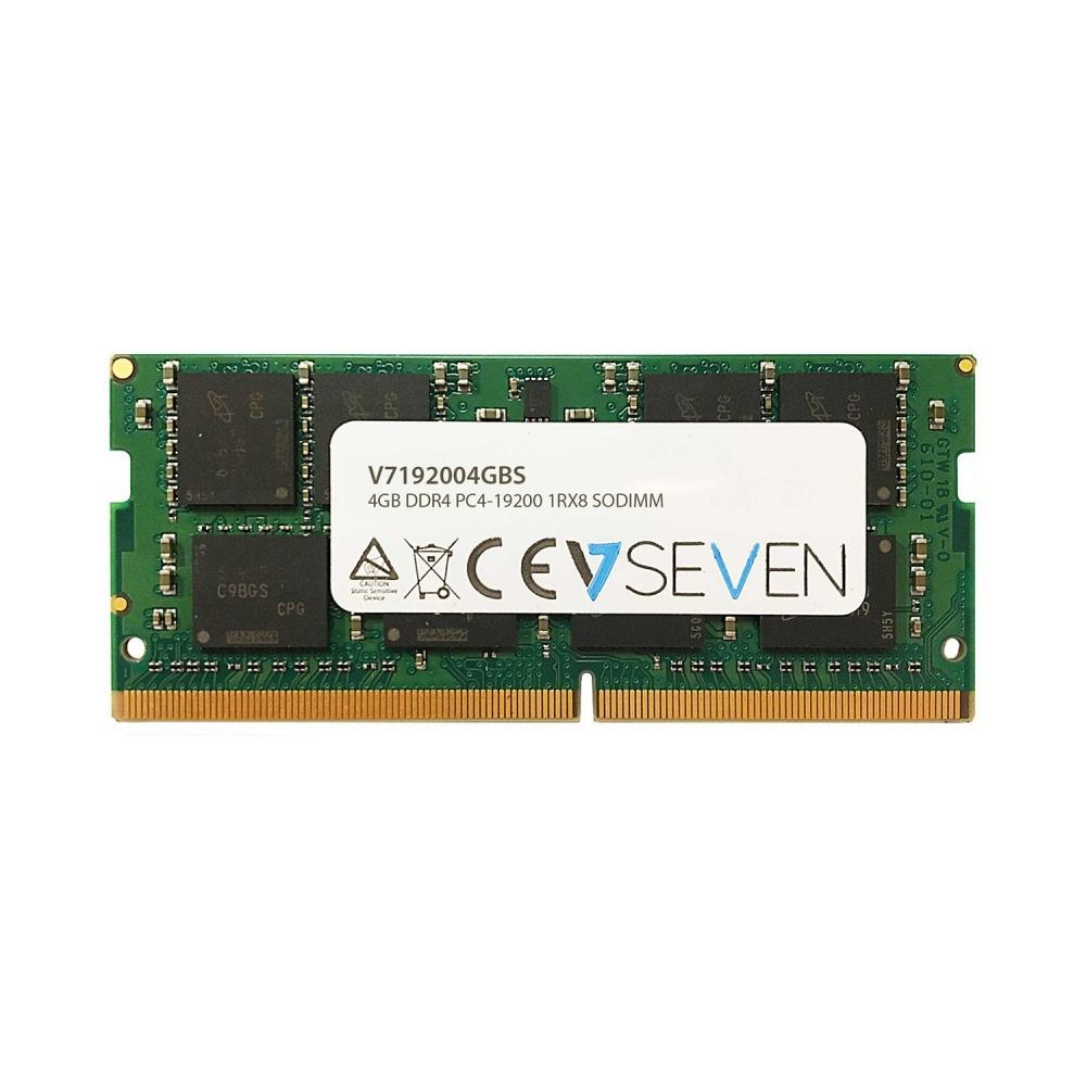 Memoria RAM V7 V7192004GBS DDR4, 2400MHz, 4GB, Non-ECC, CL17, SO-DIMM
