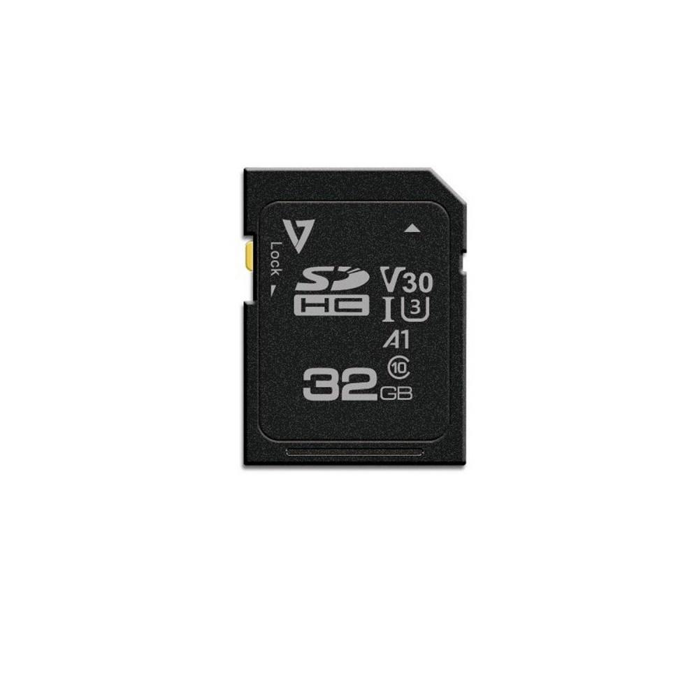Memoria Flash V7 VFSD32GV30U3-3N, 32GB SDXC UHS-III Clase 10