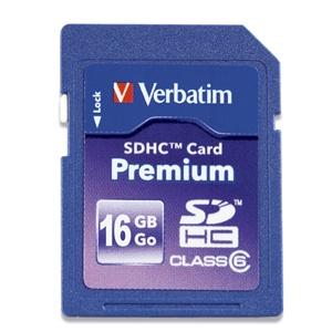 Memoria Flash Verbatim 96808, 16GB SDHC, UHS-I Clase 10