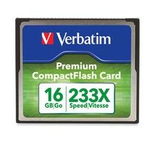 Memoria Flash Verbatim Premium, 16GB CompactFlash