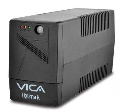 No Break Vica Optima K, 1000VA, Entrada 81 - 145V, Salida 108 - 132V, 6 Contactos