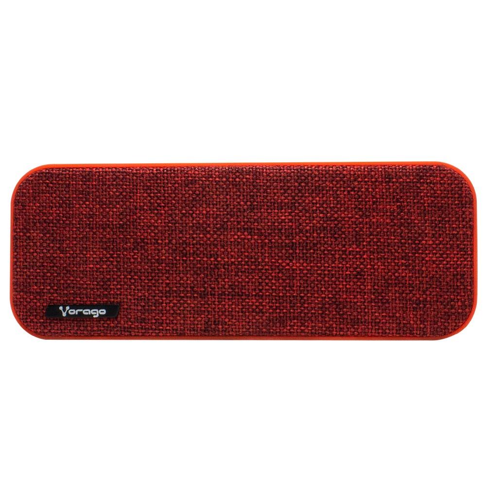 Vorago Bocina Portátil BSP-150, Bluetooth, Alámbrico/Inalámbrico, 2.0 Canales, 6W RMS, USB, Rojo