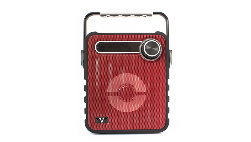 Vorago Bocina Portátil BSP-200, Bluetooth, Inalámbrico, 5W RMS, USB 2.0, Rojo