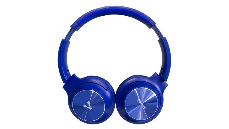 Vorago Audífonos HPB-200, Bluetooth, Inalámbrico, Azul