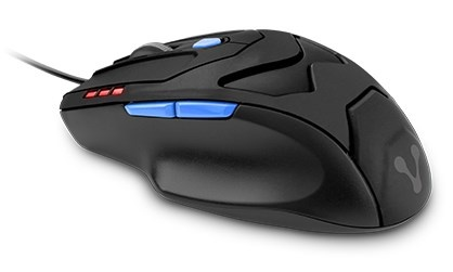 Mouse Vorago Óptico MO-408, Alámbrico, USB, 3400DPI, Negro