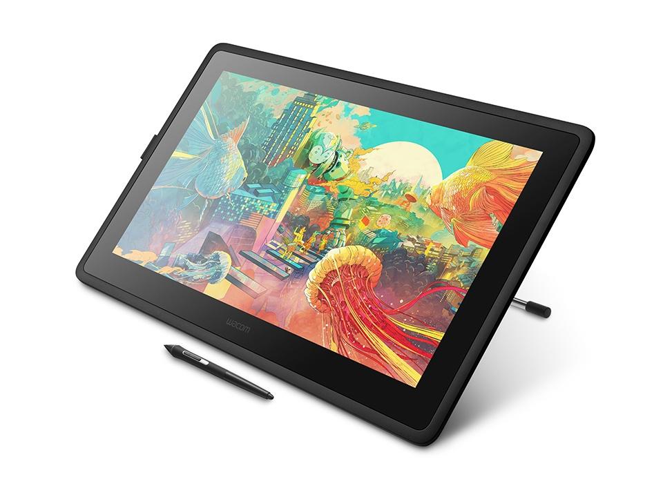 "Tableta Gráfica Wacom Cintiq 22"" Full HD, Inalámbrico, HDMI, USB 2.0, Negro - incluye Lápiz Digital Pro Pen 2"