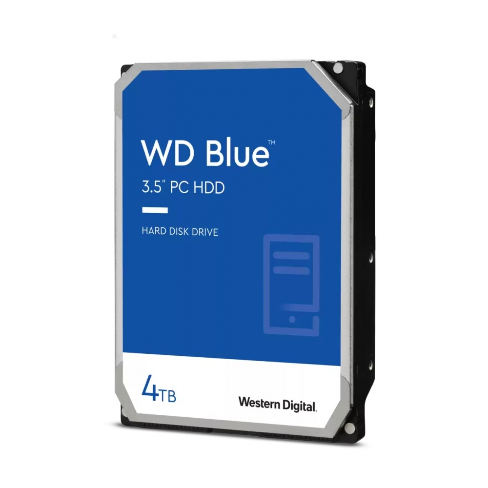 "Disco Duro Interno Western Digital WD Blue 3.5"", 4TB, SATA III, 6 Gbit/s, 5400RPM, 256MB Caché"