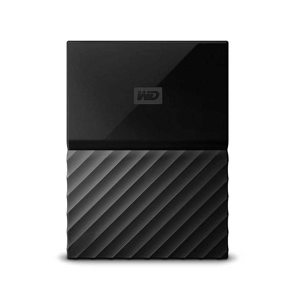 "Disco Duro Externo Western Digital WD My Passport 2.5"", 2TB, Micro USB B 3.1, Negro - para Mac/PC"