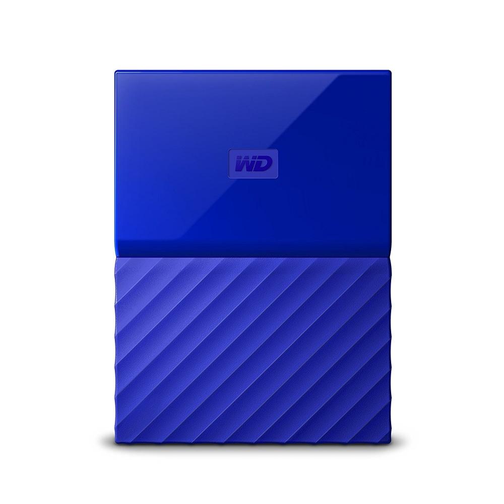 "Disco Duro Externo Western Digital WD My Passport 2.5"", 2TB, USB 3.0, Azul"