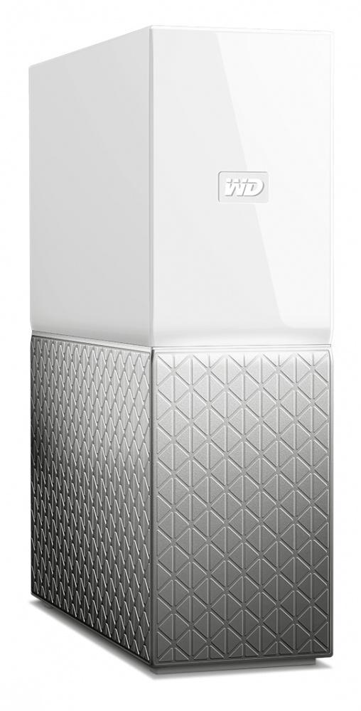 Western Digital WD My Cloud Home Single Drive, 8TB, USB 3.0, Gris/Blanco - para Mac/PC/Windows/iOS