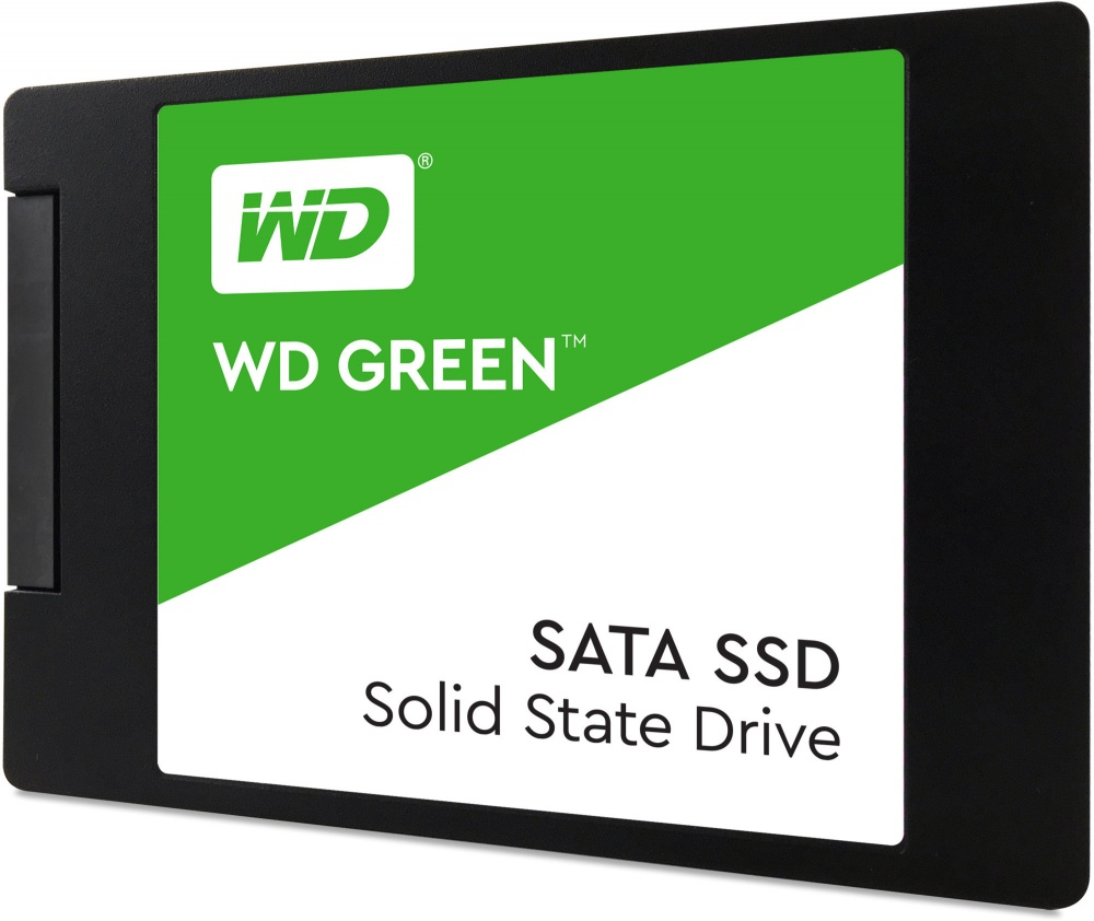 "SSD Western Digital Green, 120GB, SATA III, 2.5"", 7mm"