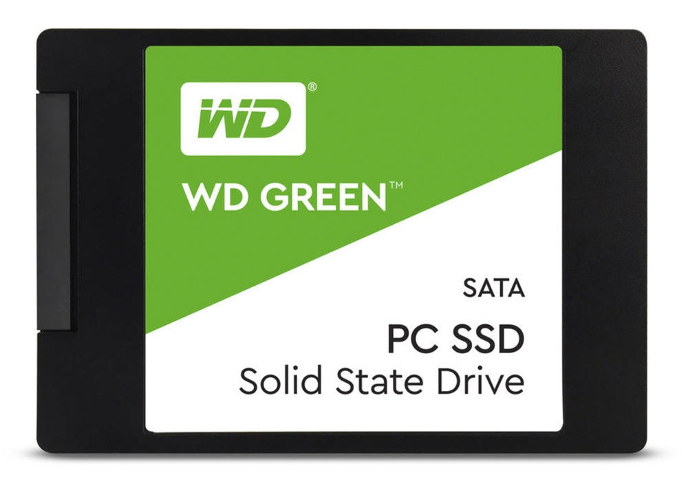"SSD Western Digital Green, 240GB, SATA III, 2.5"", 7mm"
