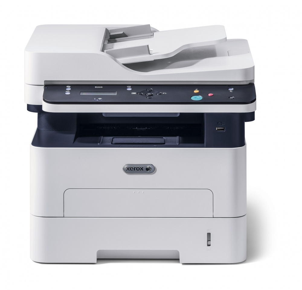 Multifuncional Xerox B205/NI, Blanco y Negro, Láser, Print/Scan/Copy
