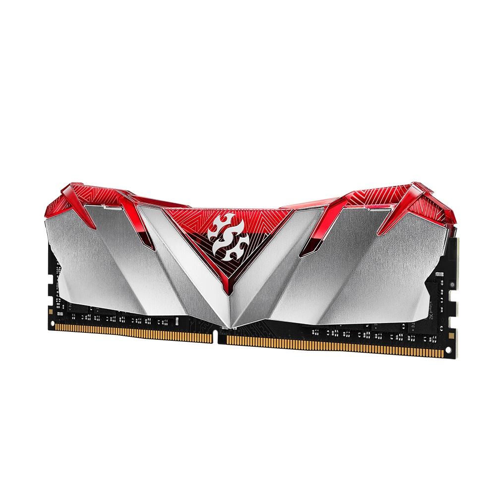 Memoria RAM XPG Gammix D30 RED DDR4, 3200MHz, 8GB, Non-ECC, CL16, XMP