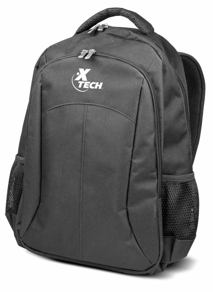 Xtech Mochila de Poliéster XTB-210 para Laptop 15.6'', Negro