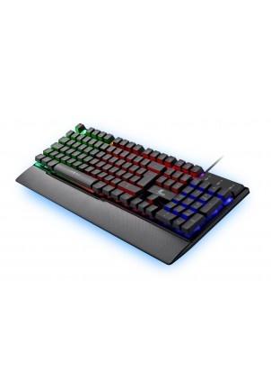 Teclado Gamer Xtech Armiger RGB, Alámbrico, Negro (Español)