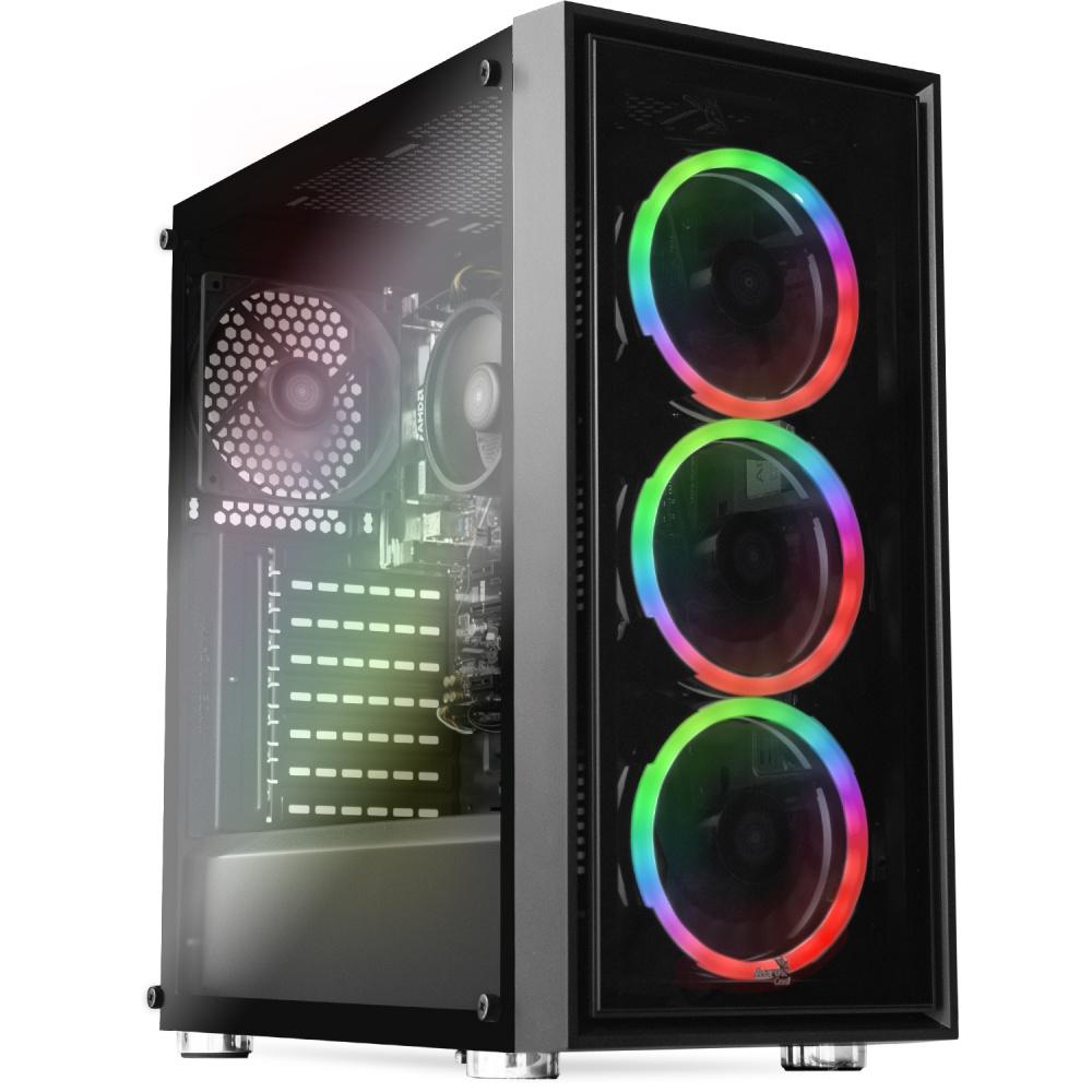 Computadora Gamer Xtreme PC Gaming CM-30011, AMD Ryzen 5 Pro 4650G 3.70GHz, 16GB, 2TB + 120GB SSD, WiFi, Radeon R7 Renoir, Windows 10 Prueba