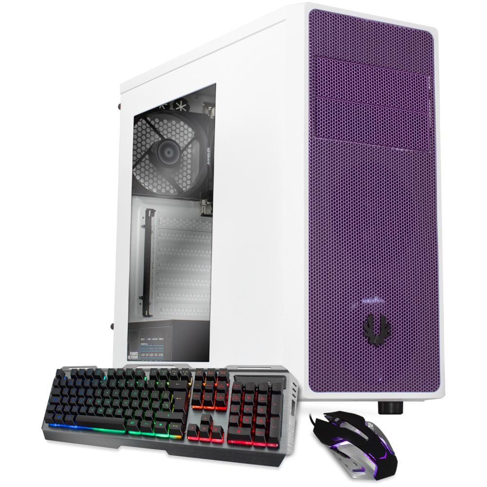 Computadora Gamer Xtreme PC Gaming CM-60034, AMD Ryzen 5 2400G 3.50GHz, 16GB, 2TB + 120GB SSD, WiFi, Windows 10 Prueba — incluye Teclado y Mouse