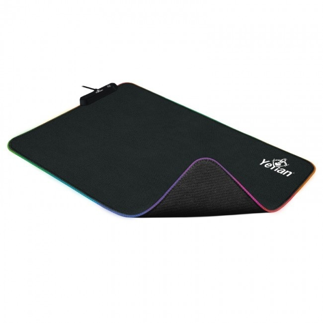 Mousepad Gamer Yeyian Krieg 2035, 44.4x35.5cm, Grosor 3mm, Negro