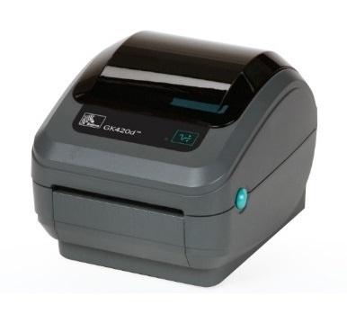 Zebra GK420d, Impresora de Etiquetas, Térmica Directa, 203 x 203DPI, USB, Paralelo, Serial, Negro